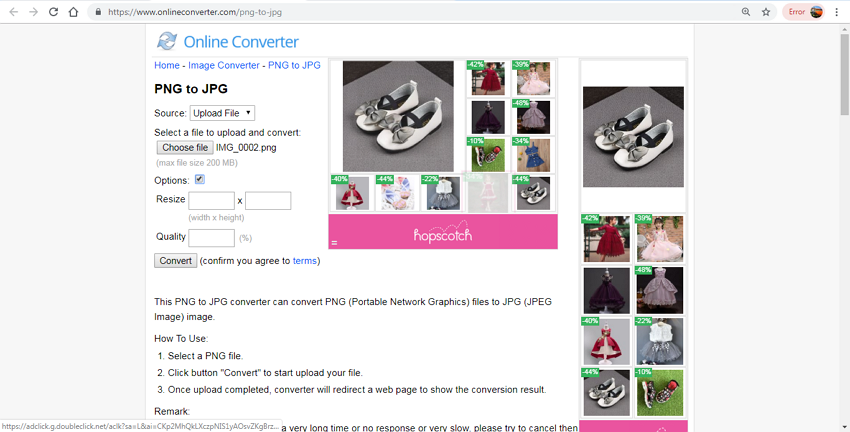 change PNG to JPG online free-Online Converter