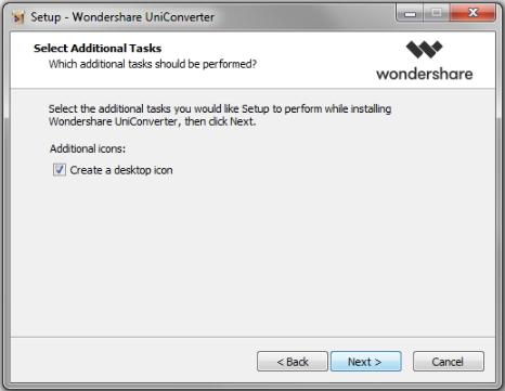 create a desktop icon