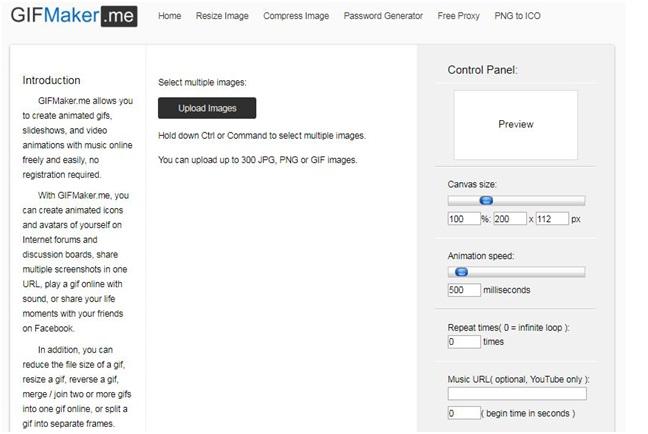 Gifmakeranimated JPG format in Gifmaker