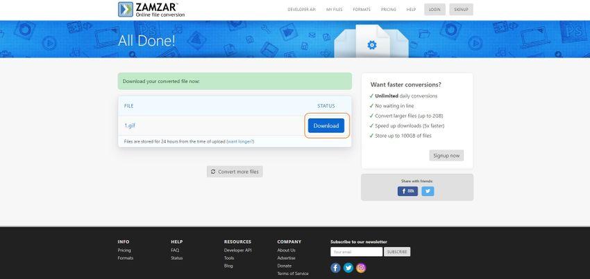 download the GIF file-Zamzar