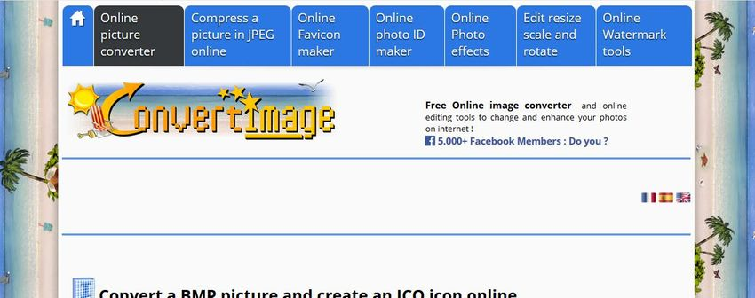 BMP format to ICO format-Convert Image