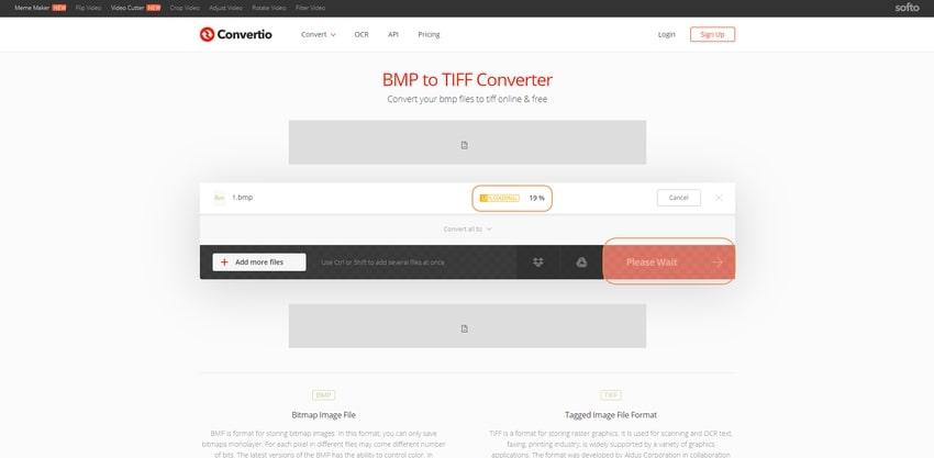 convert process-Convertio
