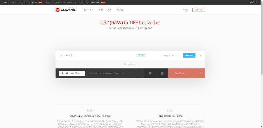 CR2 to TIFF file-Convertio