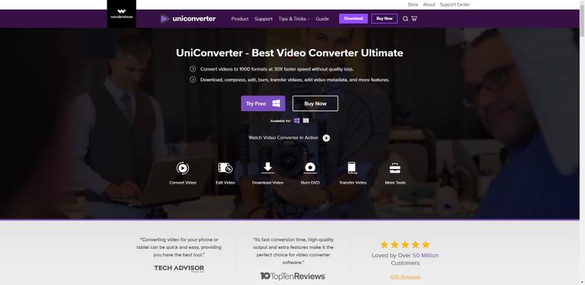 download and install UniConverter