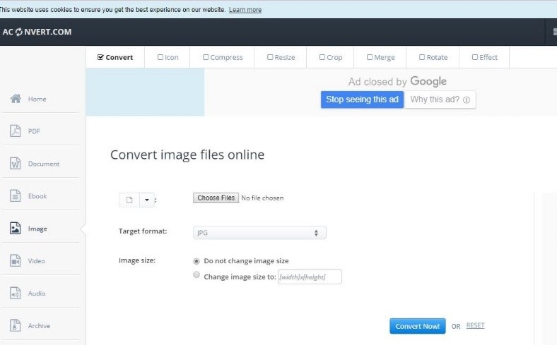 dcm to jpg-AConvert