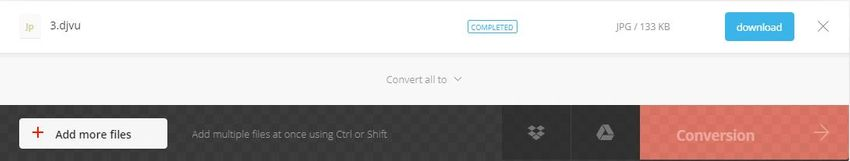finish convert and download-convertio