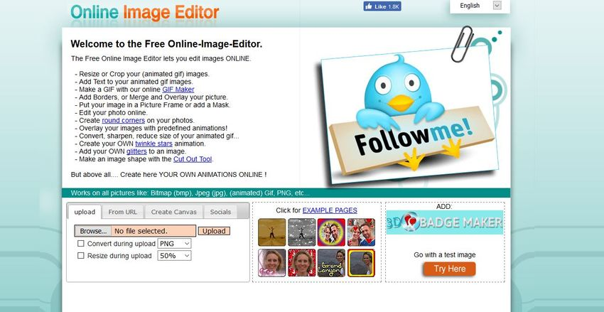 JPG editor online-Online Image Editor