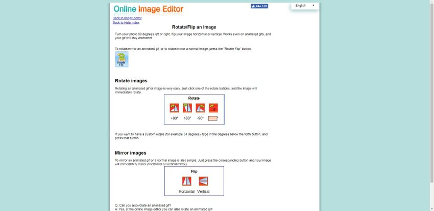 flip PNG Format-Online Image Editor
