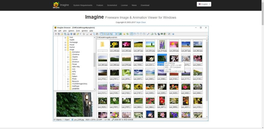 GIF file veiwer-Imagine