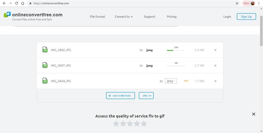 JPG to JPEG-Online Converter Free