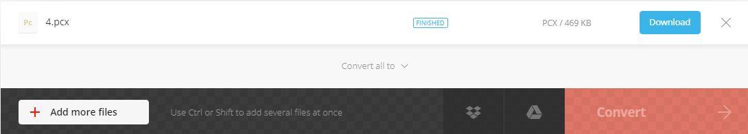 finish convert and download file-Convertio