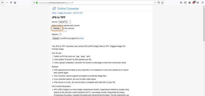 upload JPE/JPEG file-Online Convert