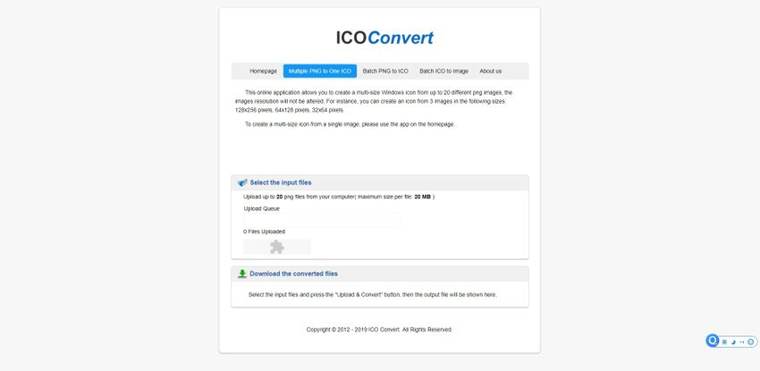Combine PNG file-ICO Convert
