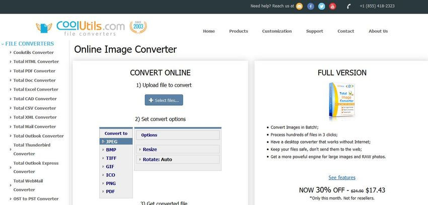 PHP to JPG convert-CoolUtils