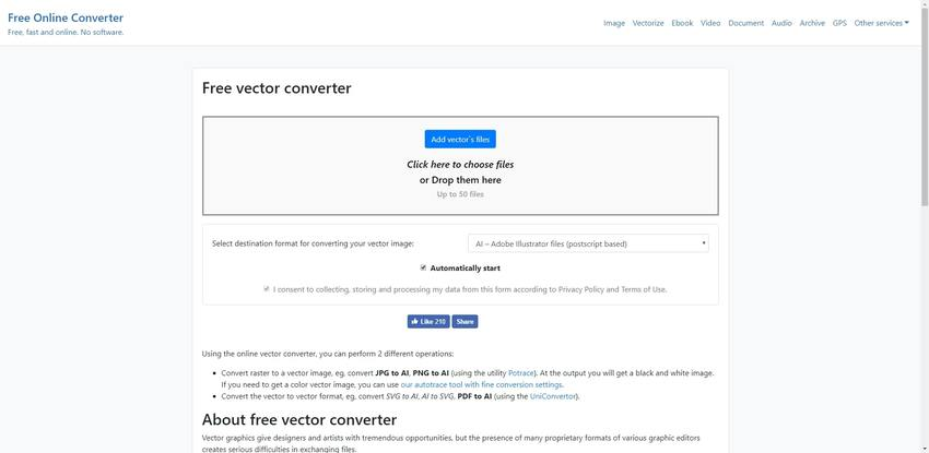 PNG to AI in Free Online Converting