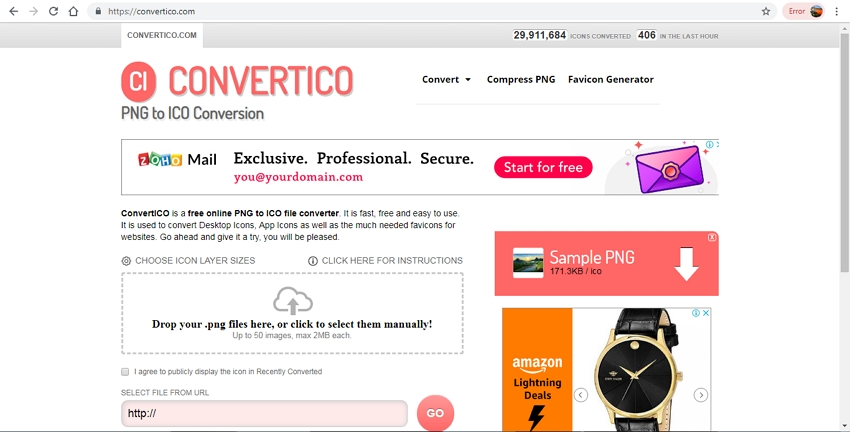 PNG to ICO File-Convertico