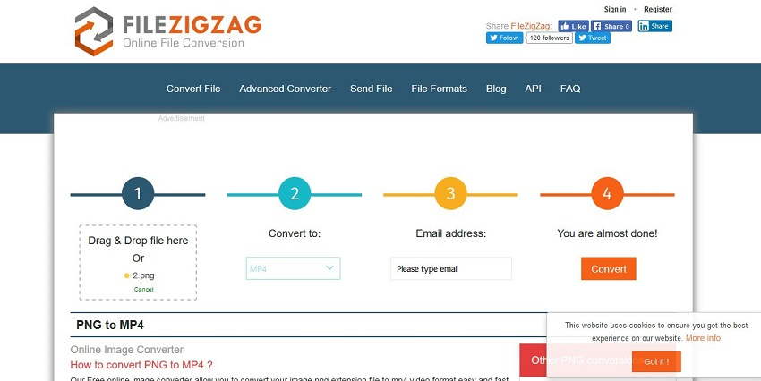 How to Convert PNG to MP4 Easily