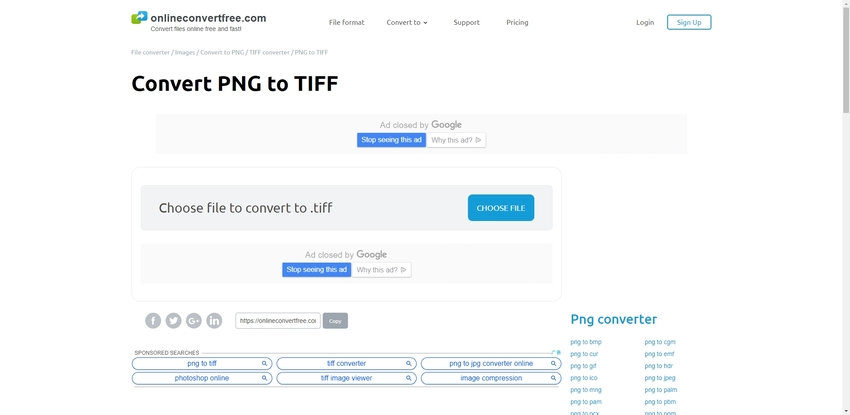 PNG to TIFF-Online Convert Free