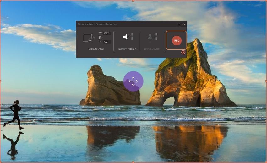 Start to Record Screen-UniConverter