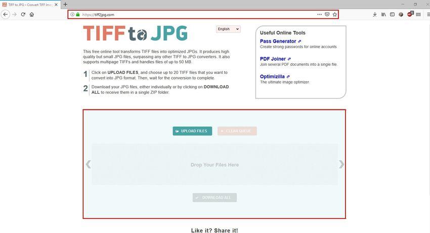 convert TIFF to JPG-TIFF to JPG