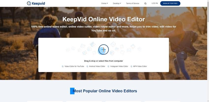 brighten dark videos in KeepVid