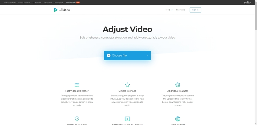 MOV Online Editor-Clideo