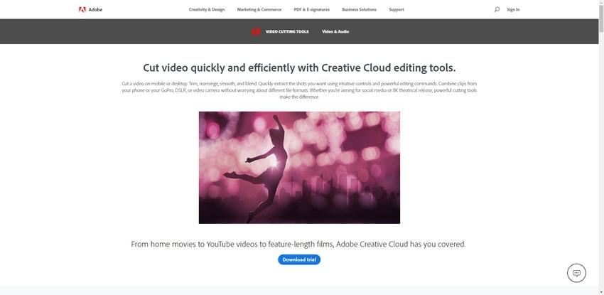Adobe Video Cutting Tools
