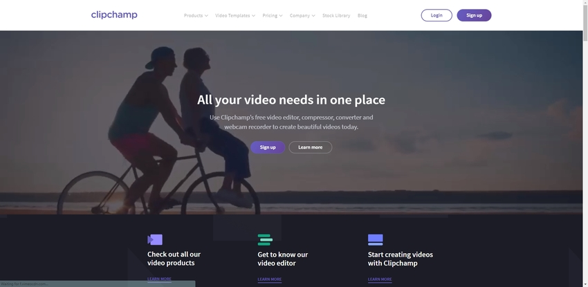 Online free Video Editor-Clipchamp