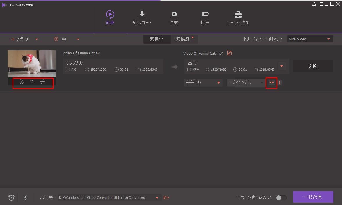 Customize or Edit AVI Video