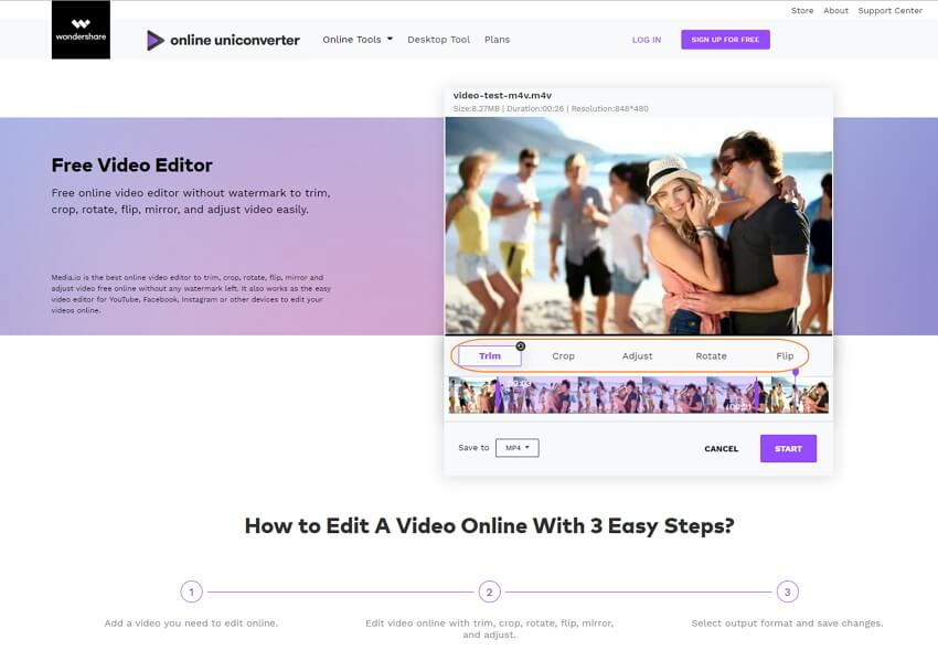 edit video online